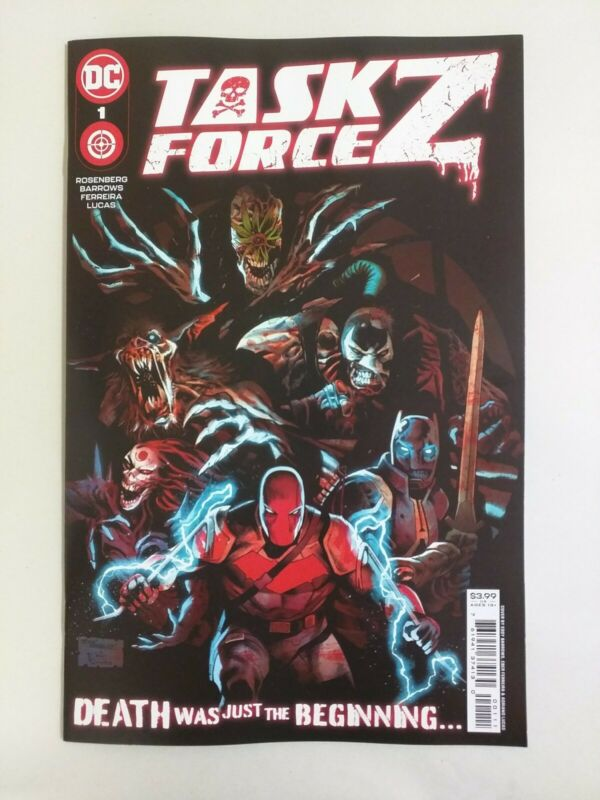 Task Force Z #1 (DC Comics 2021) Eddy Barrows Main Cover A NM
