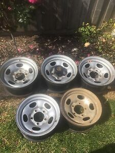 Land cruiser 100 series wheels Terang Corangamite Area Preview