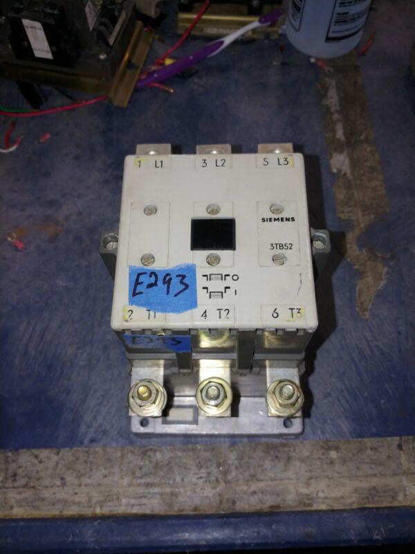 Siemens Allis CXL4M*3 Size 4 Motor Starter 3Ph 120v Coil Tested Guaranteed