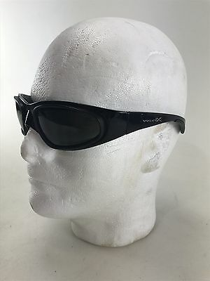WILEY X 287-2 SUNGLASSES Black Motorcycle Harley Fast Free Shipping wow