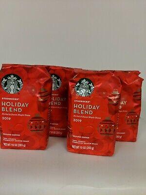 Starbucks Holiday  Blend 2019 Ground Coffee Medium Roast 1 Bag  (10 ounce)