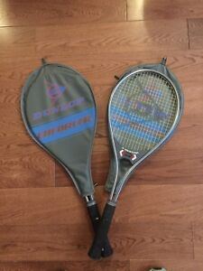 Tennis Racquet Dunlop  have two of them