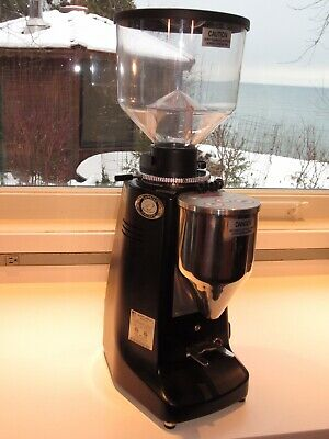 Near Mint 955 Count Mazzer Major Electronic E Espresso Grinder 83mm Flat Burrs