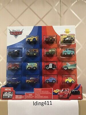 Disney Pixar Cars 3 Mini Racers Set15-pack Golden Chick Hicks Fillmore Red Sally