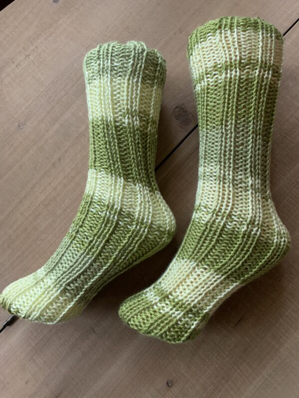 Hand Knit Socks made on Cape Cod Massachusetts