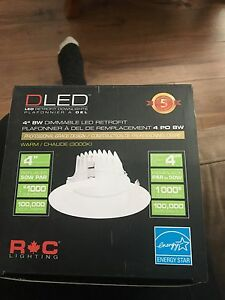 D led pot lights