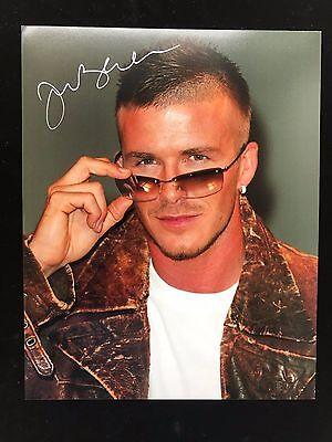 David Beckham Autograph - Hand Signed 8x10 Photo - Authentic