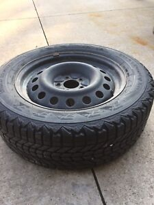 4 winter tires with rims 225/60 R17