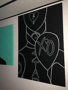 The Weeknd Painting
