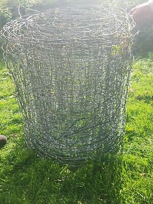 Field Wire/Mesh, 800mm high, over 100 metres long, grey, used but good condition