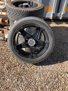 """GM HD 22"""" Rims and Tires"""