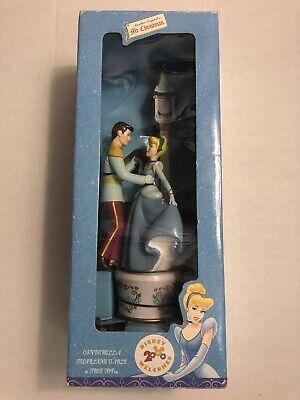 1999 Mr. Christmas Disney Cinderella Twirling Lighted Table Tree Topper NIB