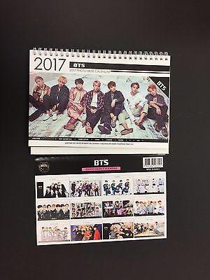 Kpop 2017 & 2018 K pop BTS Bangtan Boys High Quality Photo Desk Calendar