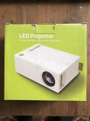 Mini Portable Projector TFT LCD LED Home Theater Cinema HD USB HDMI