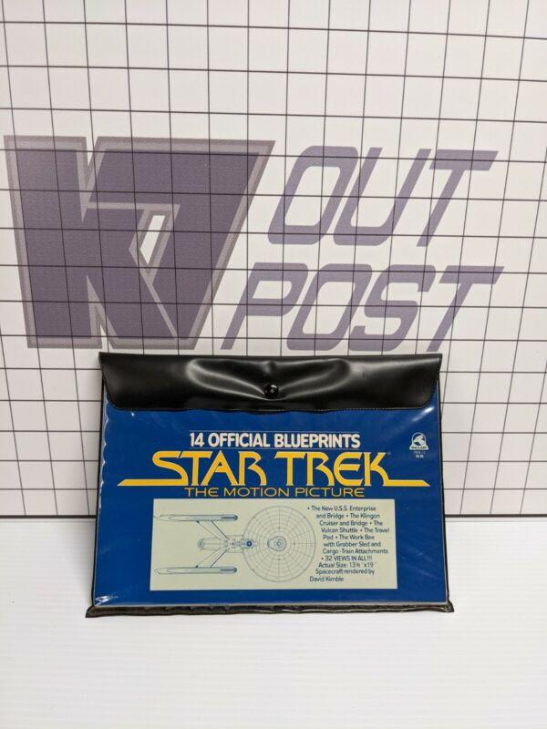 Official Blueprints Star Trek: The Motion Picture 14 Sheets Enterprise Klingon