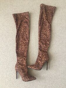 Thigh high boots size 7 NEW