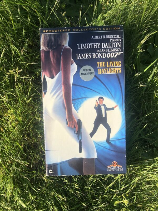 The Living Daylights (VHS, 1996) 007 James Bond