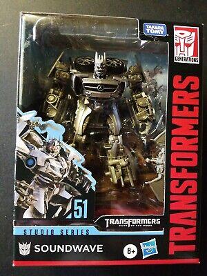 Transformers Deluxe Class Soundwave with Laserbeak Studio Series #51