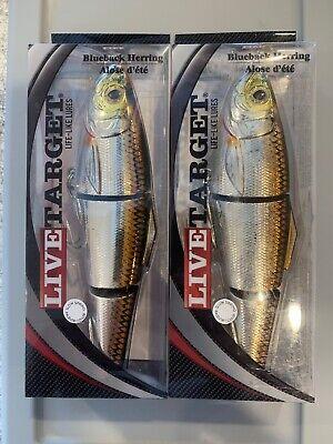 2pcs 3oz Fishing Spoons w// a Treble Hook Casting shiny Krocodi Lure Silver Gold