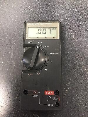 Fluke Model 73 Digital Multimeter Tested First Series 1