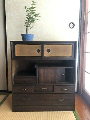 Vintage Japanese Furniture Tea cabinet CHA-TANSU
