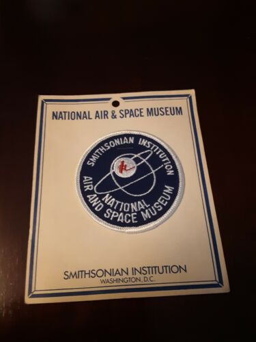 National Air And Space Museum Smithsonian Institution Washington DC Patch w card