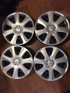 4 Steel wheels with cover