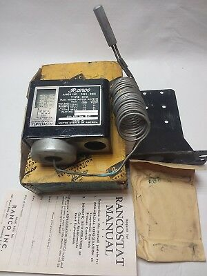 Ranco 010-1408 Temperature Controller -15f To 40f Switch Vintage Nos