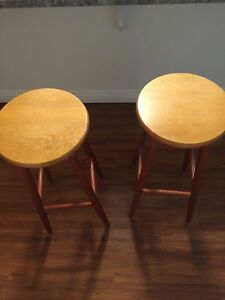 Two great bar stools