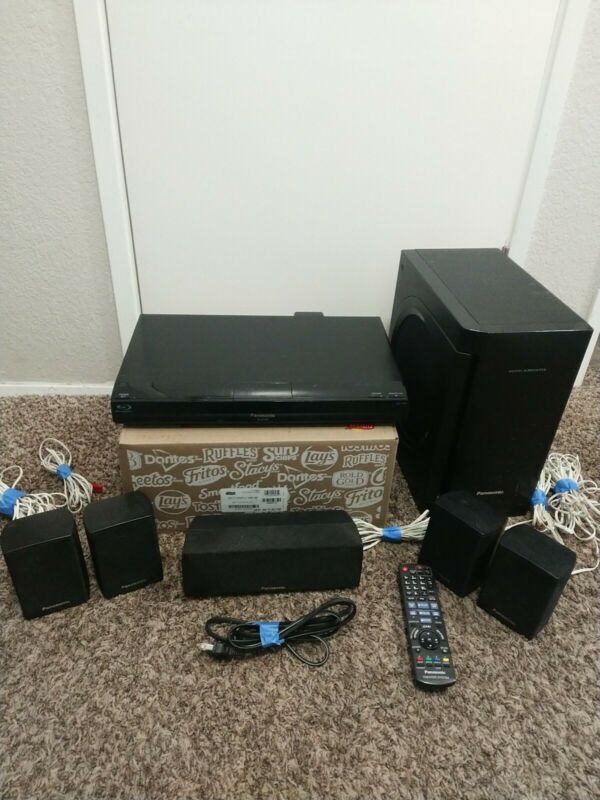 Panasonic SA-BT230 Blu-ray Disc Home Theater Sound System W/Speakers & Remote