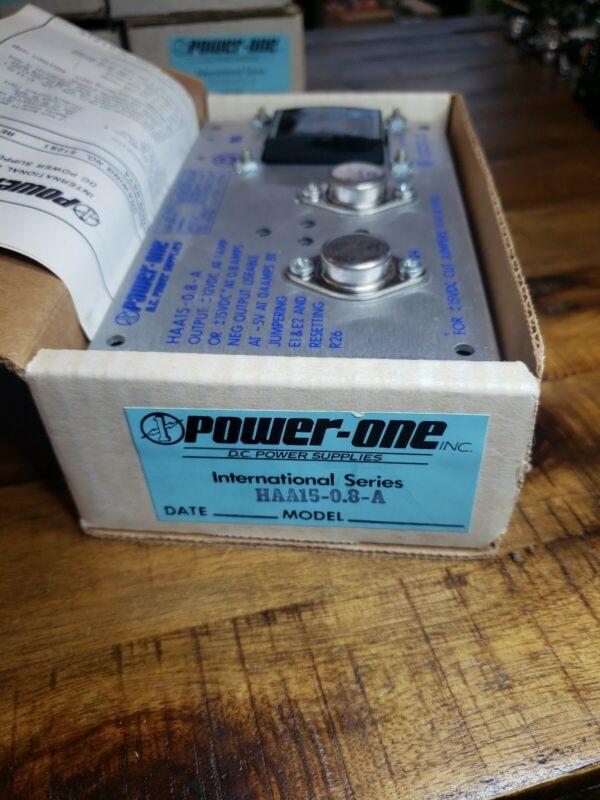 POWER-ONE HAA15-0.8-A POWER SUPPLY
