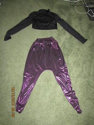 Harem Dancer/ Genie pants two piece  Costume- - Genie Girl Kostüm
