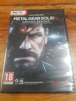 Pc Metal Gear Solid V ground zeroes new and sealed pal English