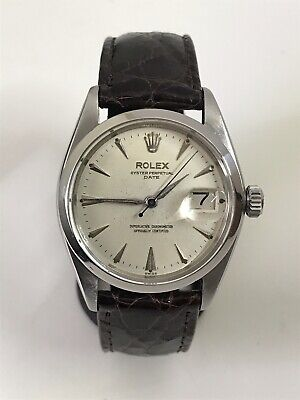 Rolex Oyster Perpetual Date Automatic (1500) With Box Year 1956