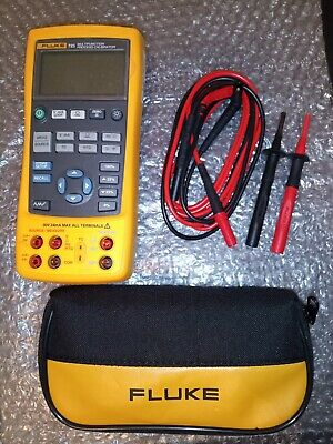 Fluke 725 Multifunction Process Calibrator With Leads Excellent Calibrated