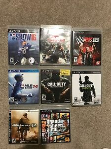 PS3 used games $5 each