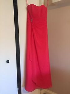 Fuchsia Bridesmaid/Prom Dress Size 8-10