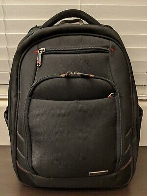 "Samsonite Xenon 2 Laptop Backpack Black w/ 13-15.6"" Laptop Pocket Pre-Owned"