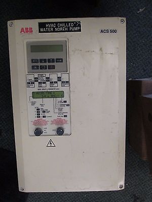 Abb Ach501 Ac Drive Ach501-025-4-00p2 25hp 3ph Used