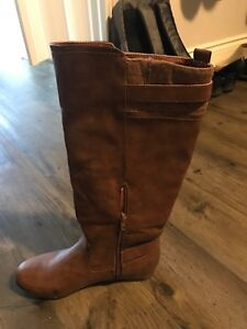 Call it spring tall brown boots