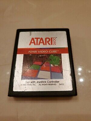 Atari Video Cube Atari 2600 VCS 1983 RUBIKS CUBE RUBIK'S MAIL ORDER EXCLUSIVE