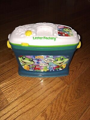 Leap Frog Letter Factory Fridge Phonics Non Magnetic Game Base Bucket & Lid Only