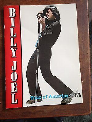 BILLY JOEL-1980-GLASS HOUSES U.S. TOUR CONCERT PROGRAM BOOK