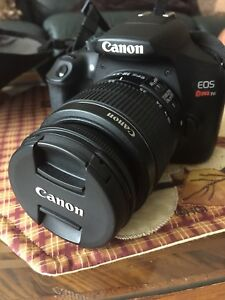 Canon EOS Rebel T6 with tripod & lenses & carrying case & more