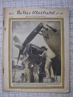 The War Illustrated # 212 Okinawa, RAF Meteor, Desert Rats, Berlin, V3 WW2, VC