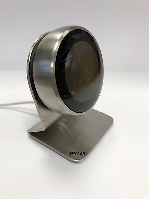 Brushed 3mm Stainless Steel 2/3rd Gen Nest Thermostat Stand with silicone feet