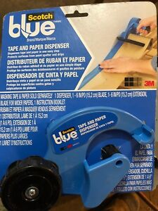 Tape and paper dispenser