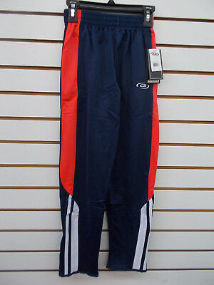 Boys CB $38 Navy, Red, & White Warm-Up Pants Size 8 - 14/16