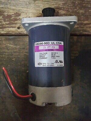 Spg 12v Dc Motor S9d90-90d