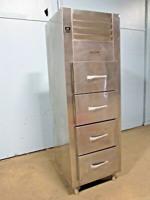 Traulsen Rfs126n H.d. Commercial Nsf 4 Drawers Upright S.s. Refrigerator